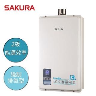 【SAKURA 櫻花】數位恆溫熱水器13L  / 基隆市、新北市、台北市包含基本安裝(SH-1333)