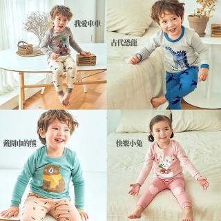 【正韓 ttasom】13款可選-無螢光劑、超優質小童居家服/睡衣套裝組(TT018)