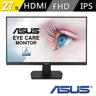 【ASUS 華碩】VA27EHE 27型 IPS 液晶螢幕