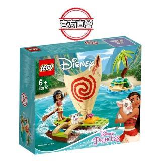 【LEGO 樂高】迪士尼公主系列 莫娜的海洋歷險 43170 海洋奇緣 公主(43170)