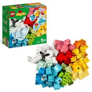【LEGO 樂高】得寶幼兒系列 心型盒 10909 學齡前 創意遊戲(10909)