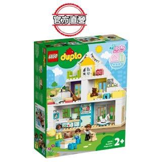 【LEGO 樂高】得寶幼兒系列 模組玩具屋 10929 學齡前 扮演遊戲(10929)