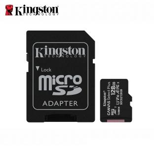 【Kingston 金士頓】Canvas Select Plus microSDXC 128GB 記憶卡(★SDCS2/128GB)