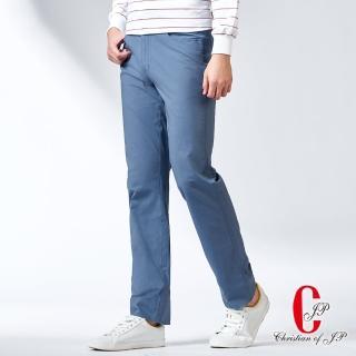 【JYI PIN 極品名店】簡約時尚水洗運動牛仔款休閒褲_灰藍(HS732-3)