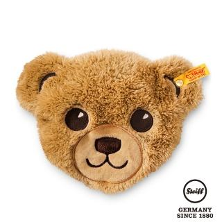 【STEIFF德國金耳釦泰迪熊】Bear Head Heat Cushion 熊熊冷熱敷暖暖包枕(經典泰迪熊_黃標)