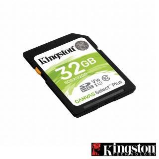【Kingston 金士頓】★Canvas Select Plus SDHC 32G 記憶卡(SDS2/32GB)