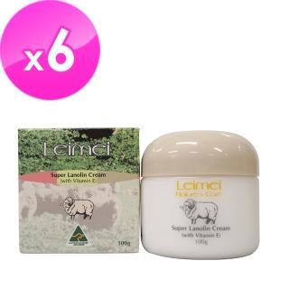 【澳洲Natures Care】Leimei 超滋潤綿羊霜含維他命E(6入組 100g/罐)