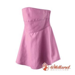 【Wildland 荒野】中性 涼感紗抗UV口罩-粉紫色 W1802-50(防曬口罩/機車/半罩/抗UV)