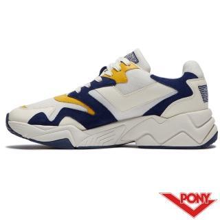 【PONY】MODERN 2系列-玩轉撞色潮流運動鞋 老爹鞋 球鞋 男款  灰黃