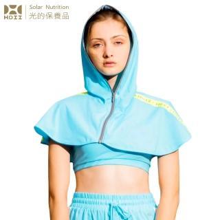 【HOII】HOII后益 標誌披肩罩衫★三色任選(UPF50+抗UV防曬涼感先進光學機能布)