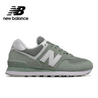【NEW BALANCE】NB 復古休閒鞋_女鞋_淺灰綠_WL574OAD-B楦 運動 休閒 潮流 時尚