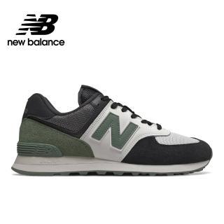 【NEW BALANCE】NB 復古鞋_男鞋/女鞋_黑色_ML574JHU-D楦 運動 休閒 潮流 時尚