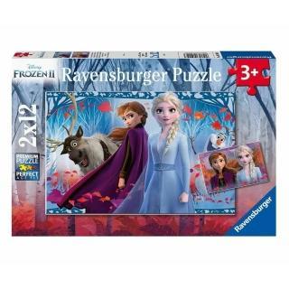 【Ravensburger】冰雪奇緣2 2X12P(維寶 拼圖)