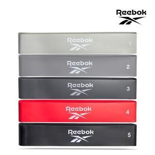 【REEBOK】專業訓練環狀彈力帶5入(RATB-20034)