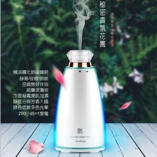 【MKS美克斯】七彩香水瓶設計薰香/氛香/水氧機(NV8016 防疫大作戰)