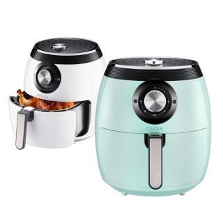 美國熱銷CAXXA凱撒7.5L雙鍋超大容量炸鍋 烤雞神器 升級款杜邦不沾塗層(氣炸鍋)