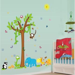 【Loviisa 夏日森林】無痕壁貼 壁紙 除舊佈新