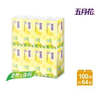 【五月花】花園版抽取式衛生紙(100抽*8包*8袋)