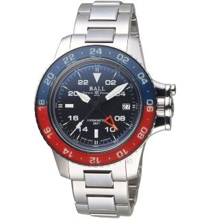 【BALL 波爾】Engineer GMT II機械錶(DG2118C-S9C-BK 黑)