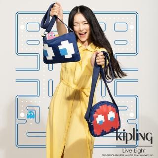 【KIPLING】Kipling PAC-MAN限量系列 側背小包-ZIO