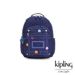 【KIPLING】PAC-MAN限量系列 手提後背包-SEOUL