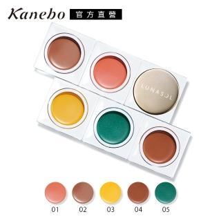 【Kanebo 佳麗寶】LUNASOL晶巧霓光眼彩 凝霜5.1g(5色任選)