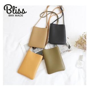 【Bliss BKK】手機包 小錢包 肩背側背 贈送原廠包包防塵袋(8色可選 現貨供應中)