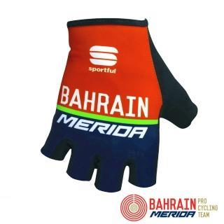 【Bahrain Merida 巴林 美利達】絕版出清|車隊版自行車短指手套(單車/透氣/防滑/吸震/半指手套)
