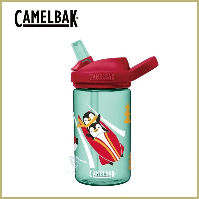 【CAMELBAK】400ml eddy+ 兒童吸管運動水瓶(全新改款/原廠正貨/兒童水壺)