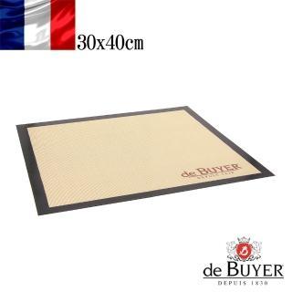 【de Buyer 畢耶】標準款不沾材質矽膠桿麵烘焙墊40x30cm
