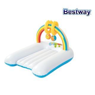 【BESTWAY】幼兒捏捏健力架充氣墊 52241(遊戲健力架)