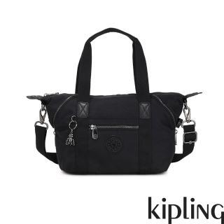 【KIPLING】極致低調黑手提側背包-ART MINI