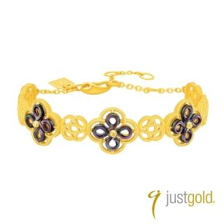 【Just Gold 鎮金店】喜‧如意純金系列 黃金手環