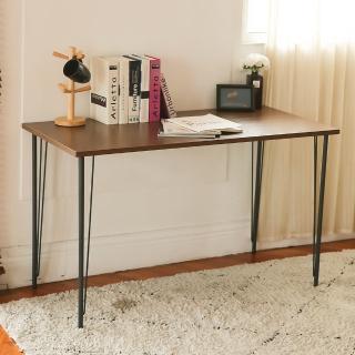 【完美主義】日系品味設計款工作桌/辦公桌/書桌-120CM(多色可選)