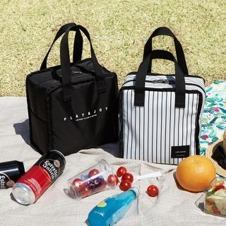 【WEEKEIGHT】時尚加厚防震保溫袋/保冰袋/便當袋/午餐袋
