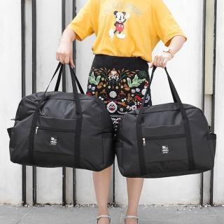 【WEEKEIGHT】可登機防潑水耐磨耐用旅行袋(大/行李箱拉桿適用)