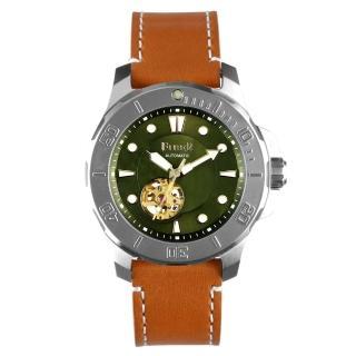 【FIBER 法柏】海洋潛將系列 機械潛水錶 鏤空綠
