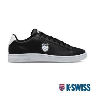 【K-SWISS】時尚 運動鞋 Court Shield-女-黑(96599-002)