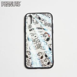 【SNOOPY 史努比】史努比與貝兒共舞手機殼(IPhone)