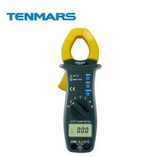 【Tenmars 泰瑪斯】自動換檔AC/DC數位鉤錶 TM-13E(鉤錶 數位鉤錶 AC/DC數位鉤錶)