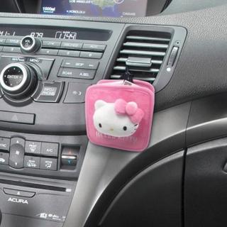 【HELLO KITTY】凱蒂貓 KT蝴蝶結系列-冷氣孔掛袋(PKTD008W-08)
