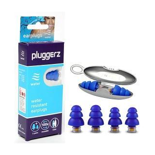 【Pluggerz】荷蘭進口  游泳耳塞 聲音濾波器 1大1小2副裝(耳塞   游泳耳塞 聲音濾波器)