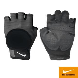 【NIKE 耐吉】女用中階訓練手套 黑灰 N0002555051