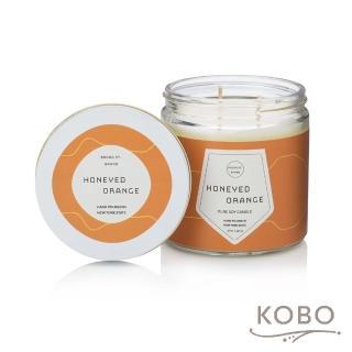【KOBO】美國大豆精油蠟燭 - 蜜香甜橙(450g/可燃燒 65hr)
