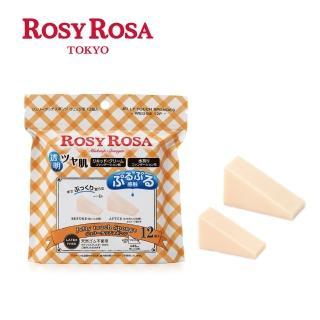 【ROSY ROSA】果凍感低敏粉撲三角形N 12入