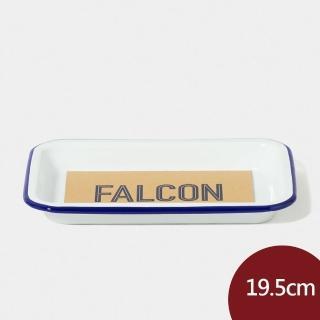 【Falcon】獵鷹琺瑯 小托盤 藍白 19.5cm