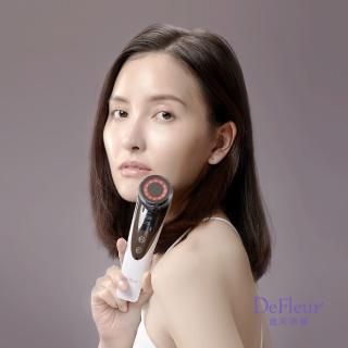 【DeFleur迪芙洛爾】6+溫感離子淨顏導入儀(五熊推薦)