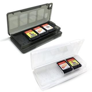 【Nintendo 任天堂】副廠 專屬遊戲片/記憶卡8入收納盒