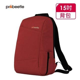 【Probeetle 波比多】15吋 日系休閒後背包(紅色)