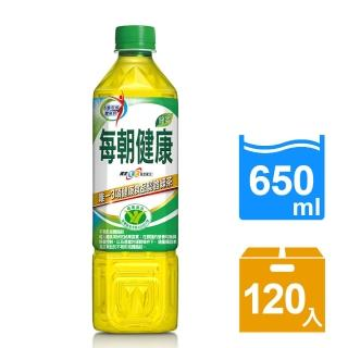 【每朝健康】綠茶650ml 24入x5箱(共120入)